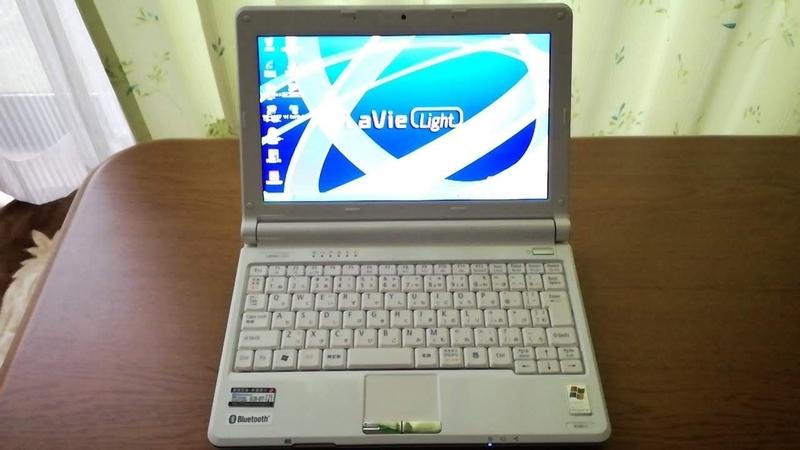 NECのネットブックLavieLight_PC-BL300/TA6Wの内蔵メモリ交換