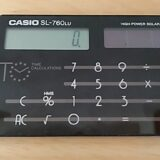 カード型電卓CASIO SL-760LU