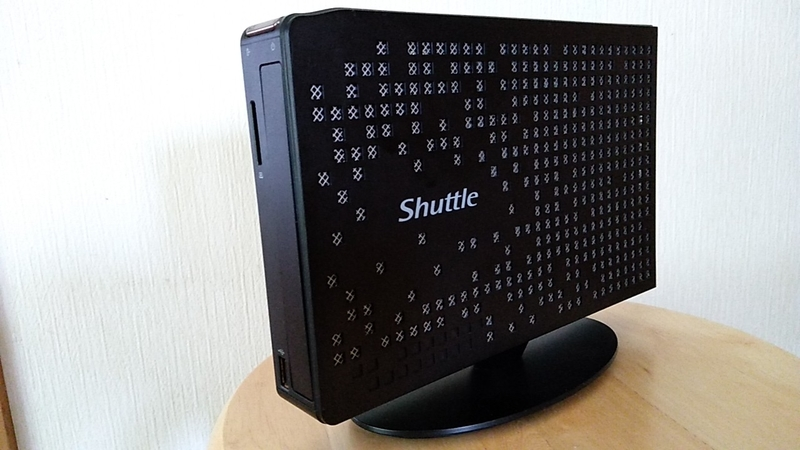 Atom搭載ベアボーンPC Shuttle XS35 V2は使えるか